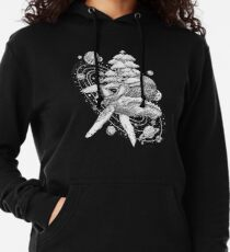 Space Whale Lightweight Hoodie