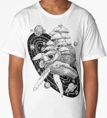 Space Whale Long T-Shirt