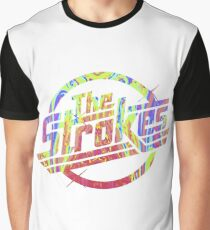 The Strokes - Psychedelic Logo Graphic T-Shirt