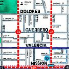 San Francisco map - Mission by Localist