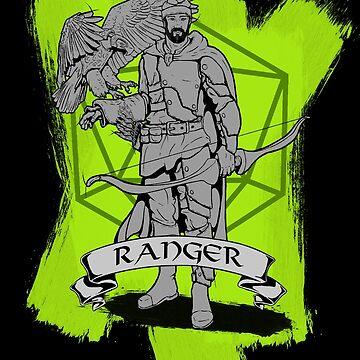 D&D Class - Ranger by explosivebarrel