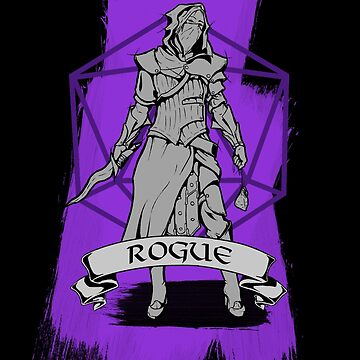 D&D Class - Rogue by explosivebarrel