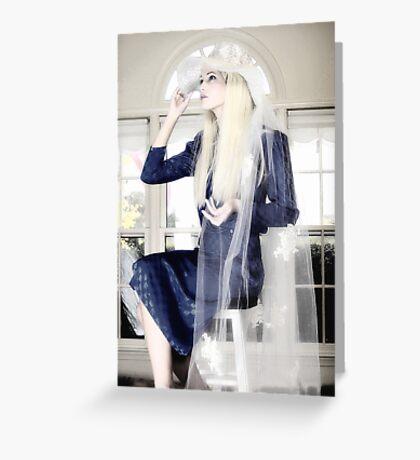 Blanco Beauty Greeting Card