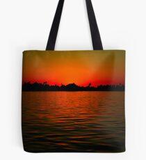 Nile Sunset Tote Bag
