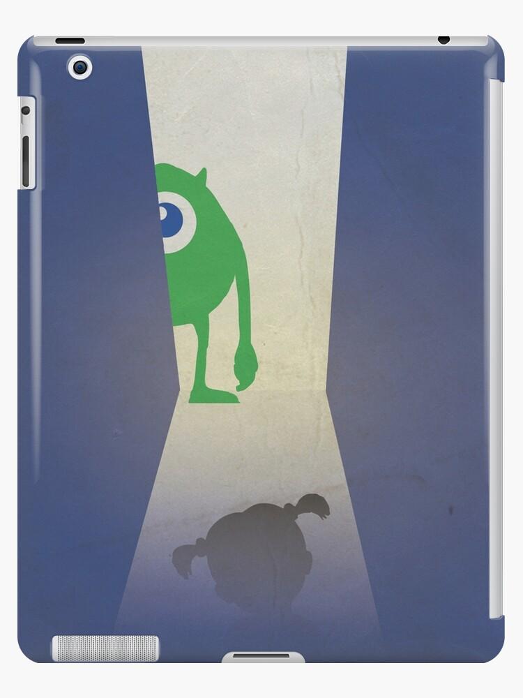 Monsters Inc 3d Animated Minimal Movie Poster Alternative Cartoon Playbill Pete Docter John Goodman Billy Crystal Ipad Case Skin By
