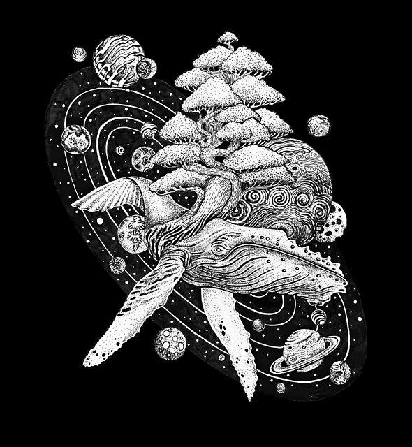 Space Whale by Ruta Dumalakaite