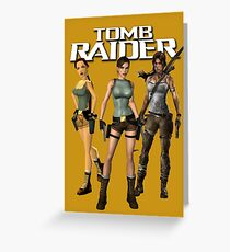 Lara Croft - Tomb Raider Greeting Card