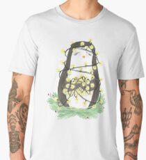 Weihnachten - Pinguin - Lichterkette Men's Premium T-Shirt
