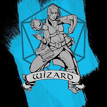 D&D Classes - Wizard by explosivebarrel