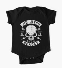 JIU JITSU - 100% TADEL - BRASILIANISCHE JIU JITSU Baby Body Kurzarm