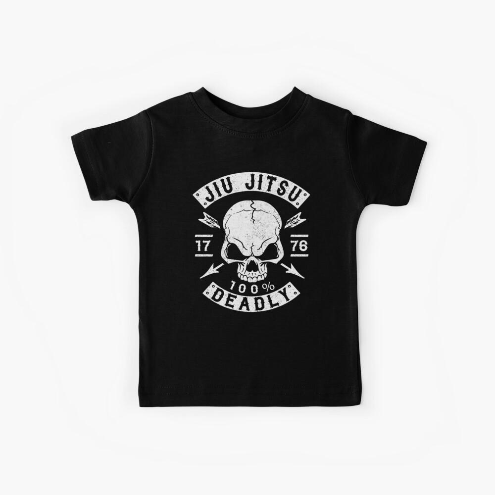 JIU JITSU - 100% DEADLY - BRAZILIAN JIU JITSU Kids T-Shirt