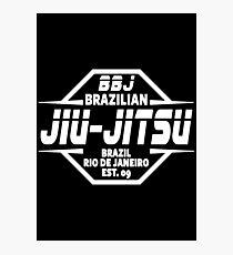 JIU JITSU - BRAZILIAN JIU JITSU Photographic Print