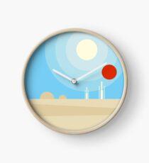 Twin Suns Clock