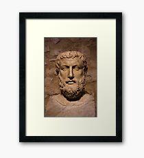 Porträt von Parmenides Gerahmtes Wandbild