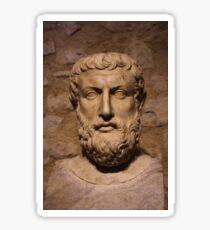 Portrait Of Parmenides Sticker