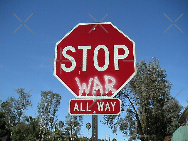 """stop war all way"" by poupoune"
