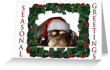 Seasonal Greetings  by Squealia