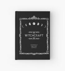 Witchcraft A Handbook of Magic Spells and Potions Hardcover Journal