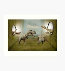 Jurassic World Art Print