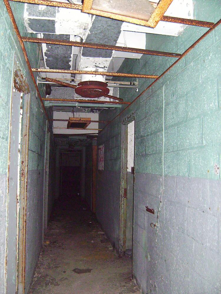 hallway by missingjosh