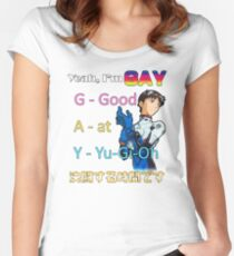 Yeah, Im G.A.Y. Women's Fitted Scoop T-Shirt