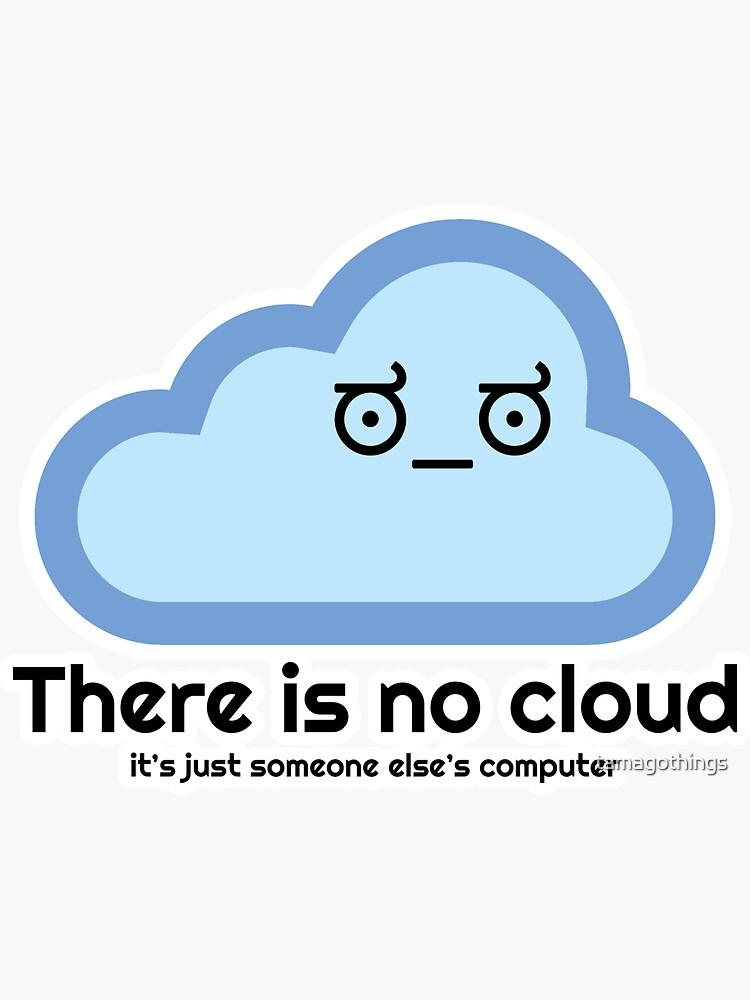 No hay nube - Cara de desaprobación de tamagothings