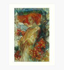 "sumac ""Rhus coriaria""  Art Print"