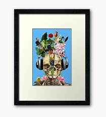 Music Is The Answer. Framed Print