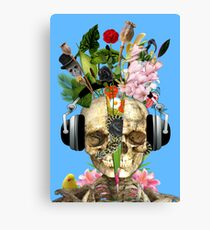 Music Is The Answer. Canvas Print