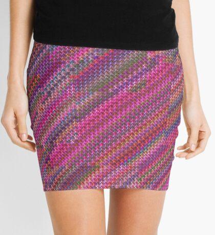 Pretty Pink Rainbow Mini Skirt
