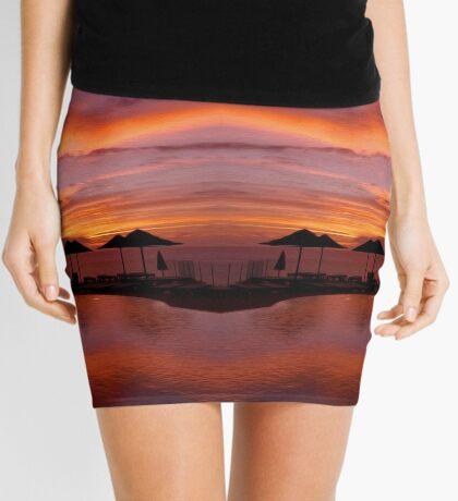 Poolside Sundowner Mini Skirt