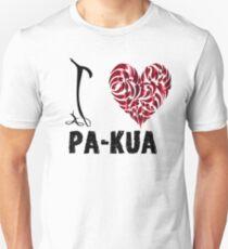 Pa kua T Shirt Design I Love Pa kua Unisex T-Shirt