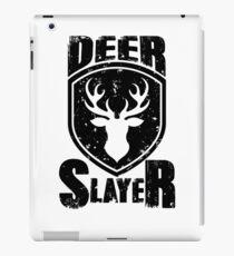 Deer Slayer Hunting Lovers Hunter Top Deer Killer Buck Slayer Bow Lover shirts   iPad Case/Skin