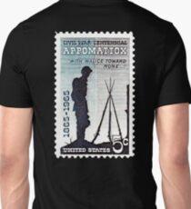 POSTAGE STAMP, Appomattox, , 1864 - 1964, Grand Army of the Republic, Union, United Confederate Veterans T-Shirt