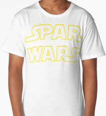 SPAR WARS - BEST JIU JITSU IN THE GALAXY Long T-Shirt