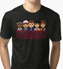 STRANGER THINGS CAST Tri-blend T-Shirt