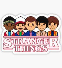 STRANGER THINGS CAST Sticker