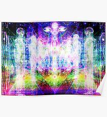 Holographic Kundalini Poster