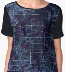 USGS TOPO Map Indiana IN Versailles 160425 1946 24000 Inverted Women's Chiffon Top