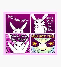 """Lámina fotográfica """"TENGO ESTO"""" Bunny Comic"""