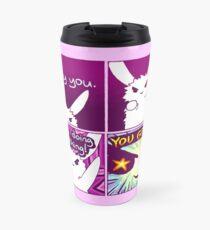"""""""YOU GOT THIS"""" Bunny Comic Travel Mug"""