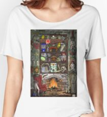 Creepy Cabinet of Curiosities Women's Relaxed Fit T-Shirt