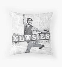 Newsies Playbill Throw Pillow