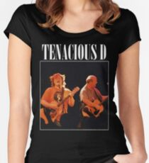 TENACIOUS D Women's Fitted Scoop T-Shirt