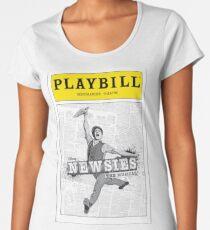 Newsies Playbill Women's Premium T-Shirt