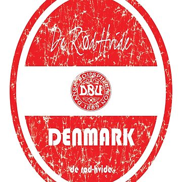 Football - Denmark (Distressed) by madeofthoughts
