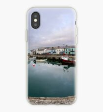 Hurry Head Harbour, Carnlough, County Antrim iPhone Case