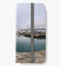 Hurry Head Harbour, Carnlough, County Antrim iPhone Wallet/Case/Skin