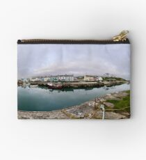 Hurry Head Harbour, Carnlough, County Antrim Studio Pouch