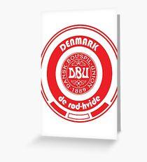 Football - Team Denmark Greeting Card